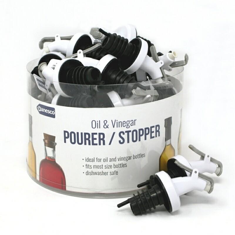 Danesco | Oil & Vinegar Pourer/Stopper