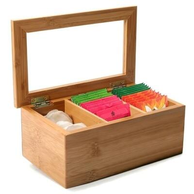 Ch'a Tea | Tea Bag Storage Box