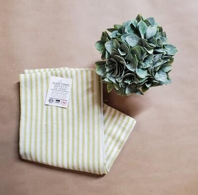Now Designs Glass Towel Set of 2   Cactus