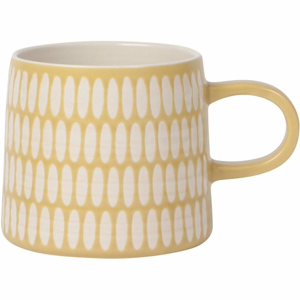 Danica Imprint Mug | Ochre