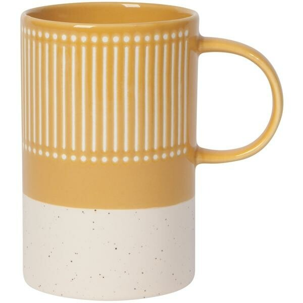 Danica Etch Mug | Ochre