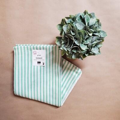 Now Designs Glass Towel Set of 2   Greenbriar