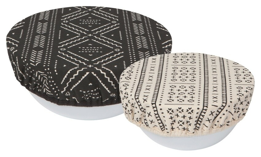 Now Designs Save It Bowl Covers Set of 2 - Onyx