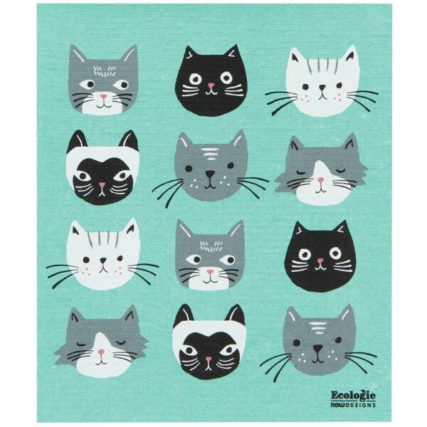 Now Designs Swedish Sponge Towel | Cats Meow