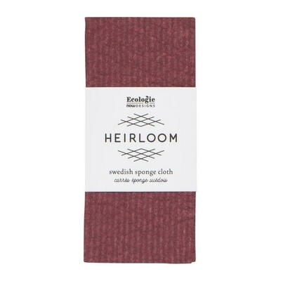 Now Designs Heirloom Swedish Dish Sponge - Wine