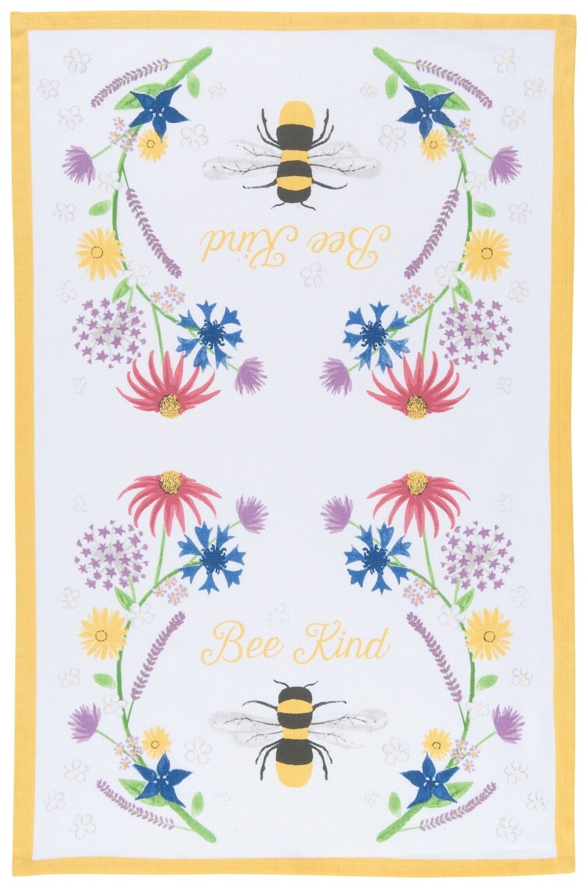 Now Designs Teatowel | Bee Kind