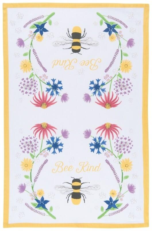 Now Designs Teatowel | Bee Kind