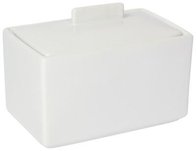 Now Designs 1 lb Butter Dish | White