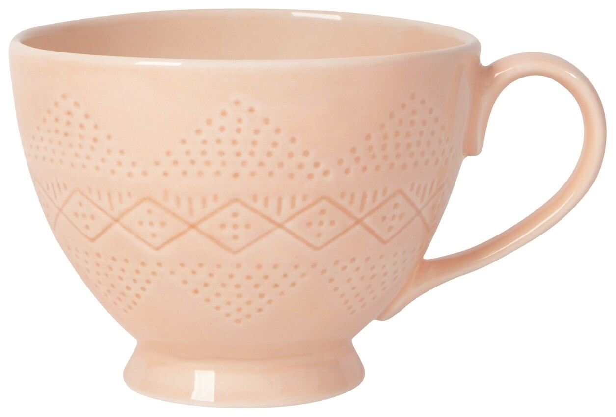 Danica Adorn Mug - Peach