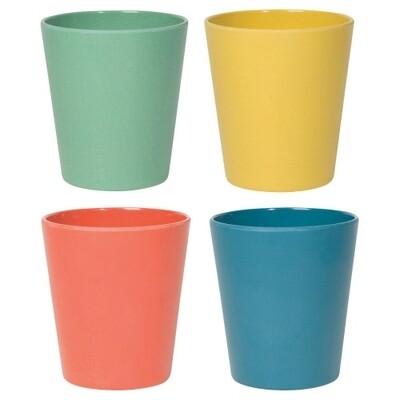 Danica Fiesta Ecologie Cups (Set of 4)