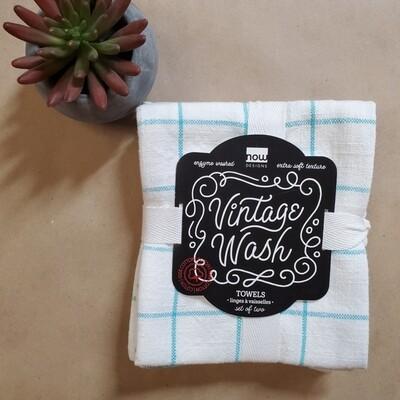 Now Designs Vintage Wash Towels (Set of 2) | Bali