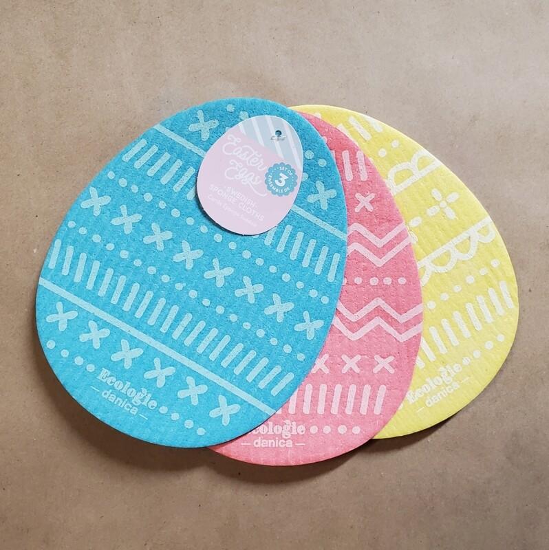 Now Designs Swedish Dishcloths (Set of 3) | Easter Eggs