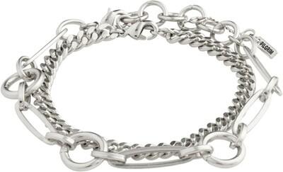 Pilgrim Silver Sensitivity Bracelet