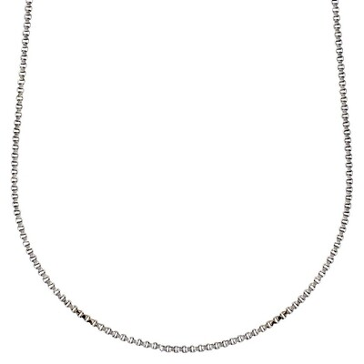 Pilgrim Silver Nancy Classic Chain Necklace 60 cm