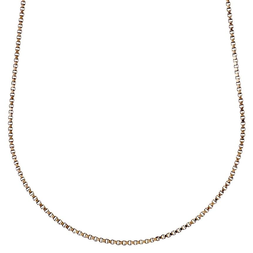 Pilgrim Rose Gold Nancy Classic Chain Necklace 45 cm