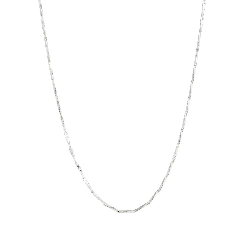 Pilgrim Silver Ingot Classic Chain Necklace