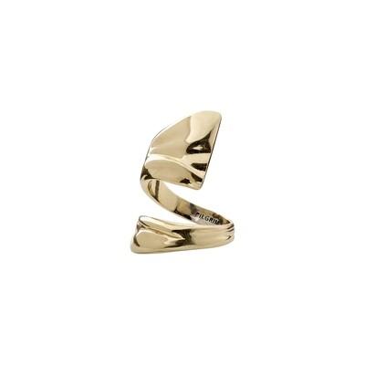 Pilgrim Gold Water Element Ring
