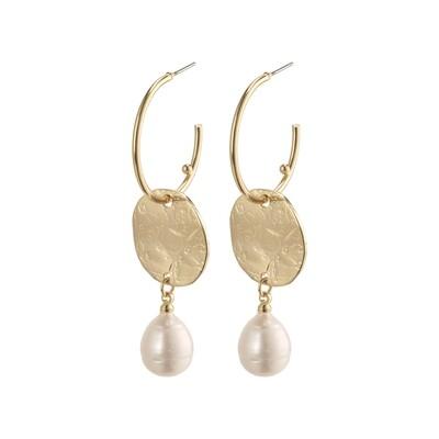 Pilgrim Gold Affection Earrings