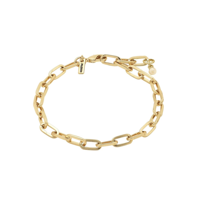Pilgrim Gold Bibi Chain Bracelet