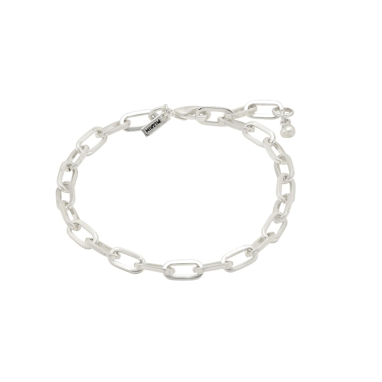 Pilgrim Silver Bibi Chain Bracelet