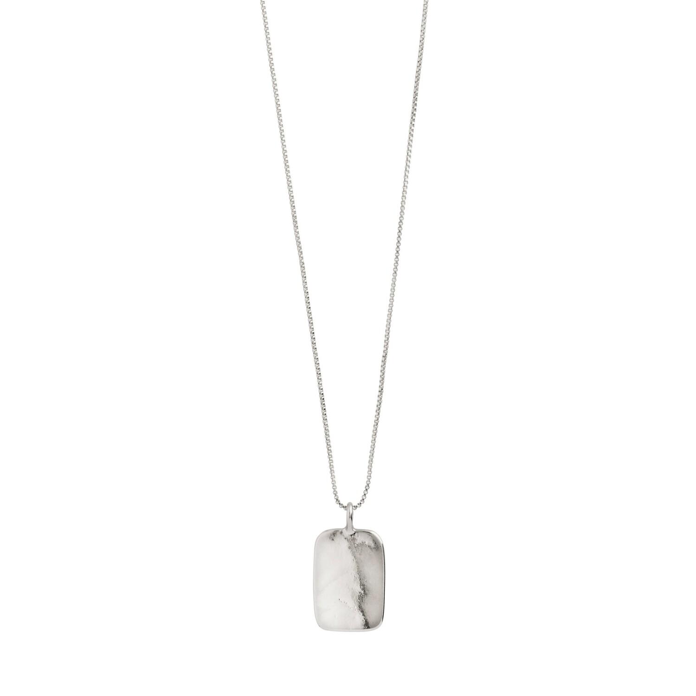 Pilgrim Silver Intuition Unisex Necklace