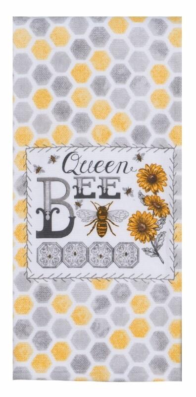 Kay Dee Designs Duel Purpose Terry Towel | Just Bees Queen Bee