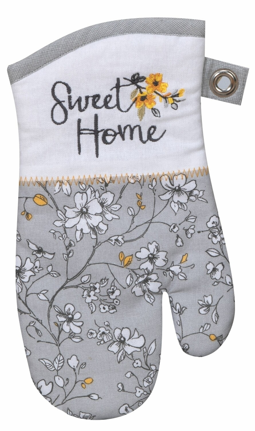 Kay Dee Designs Embroidered Oven Mitt   Sweet Home