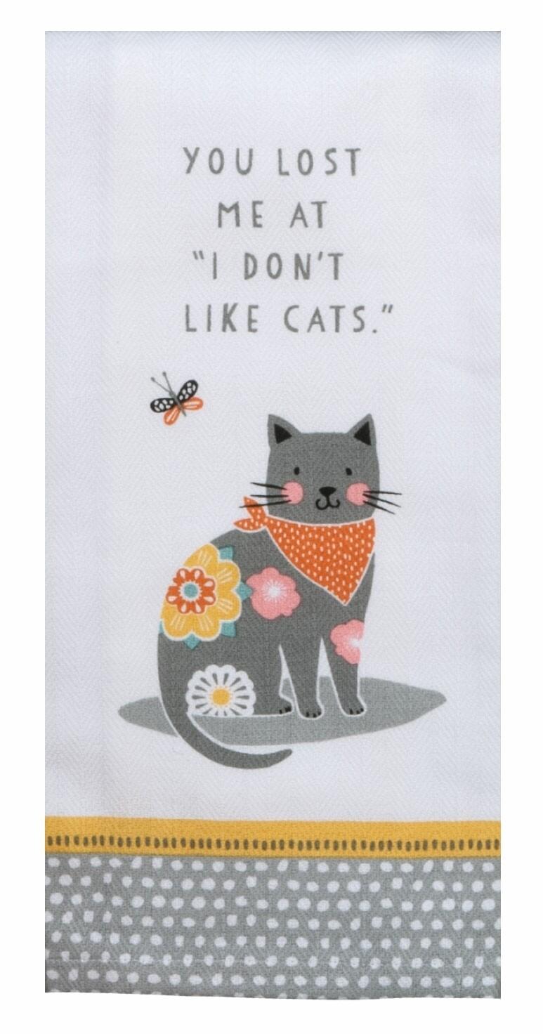Kay Dee Designs Tea Towel   Cat Patch Like Cats