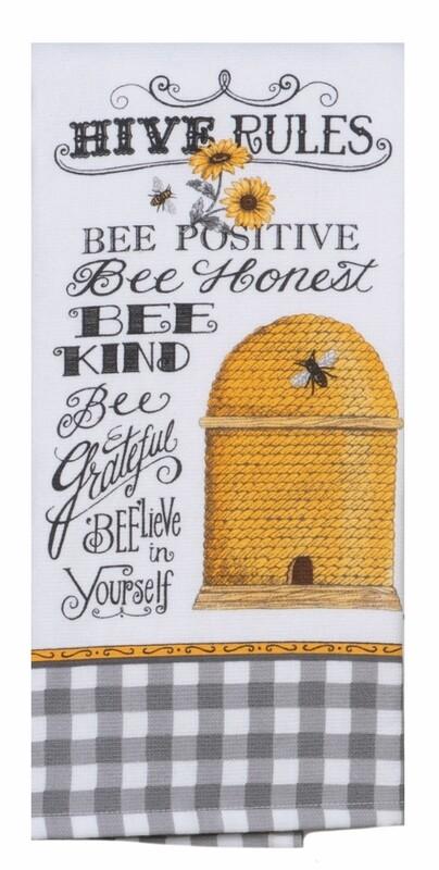 Kay Dee Designs Duel Purpose Terry Towel | Just Bees Hive Rules