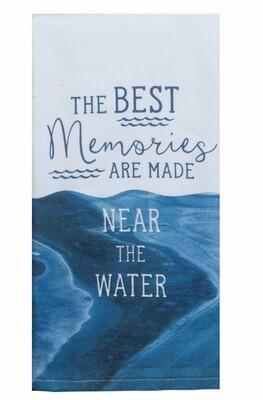 Kay Dee Designs Duel Purpose Terry Towel | Lake Best Memories