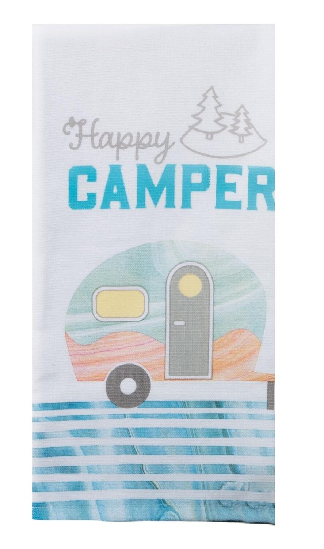 Kay Dee Designs Duel Purpose Terry Towel | Happy Camper