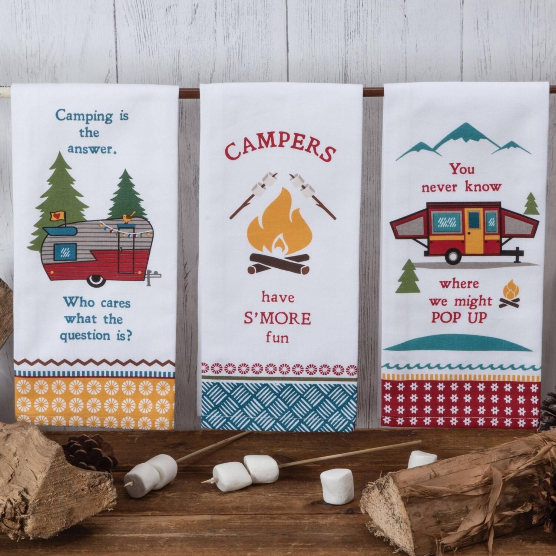 Kay Dee Designs Tea Towel | Camping Life