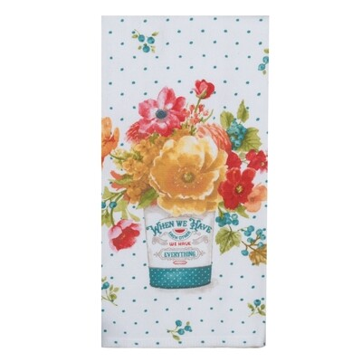 Kay Dee Designs Duel Purpose Terry Towel | Country Fresh Floral