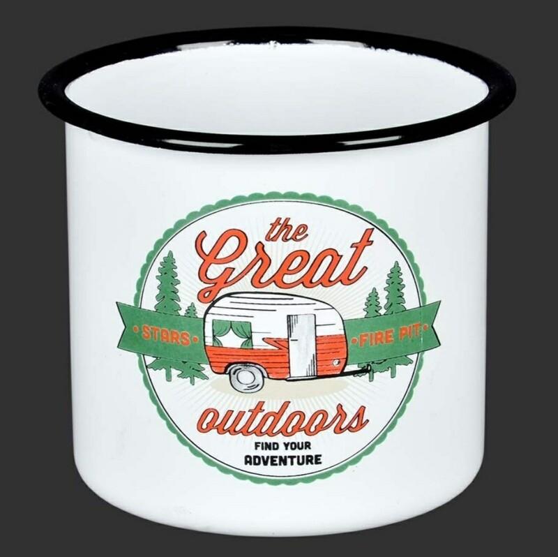 Enamel Pot - Great Outdoors