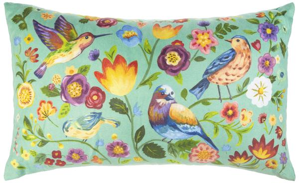 Printed Cushion - Birds