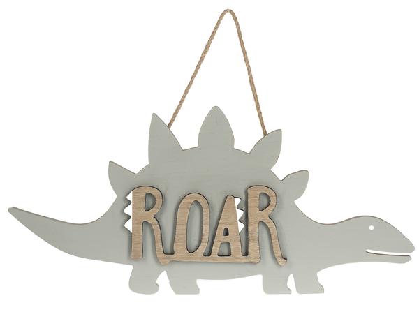 GANZ Cut Out Dino Hanging Sign - Roar