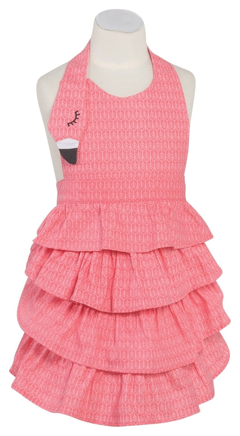 Now Designs Childrens Daydream Apron | Flamingo