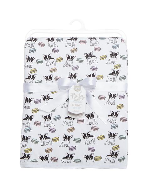 GANZ French Bulldog Blanket