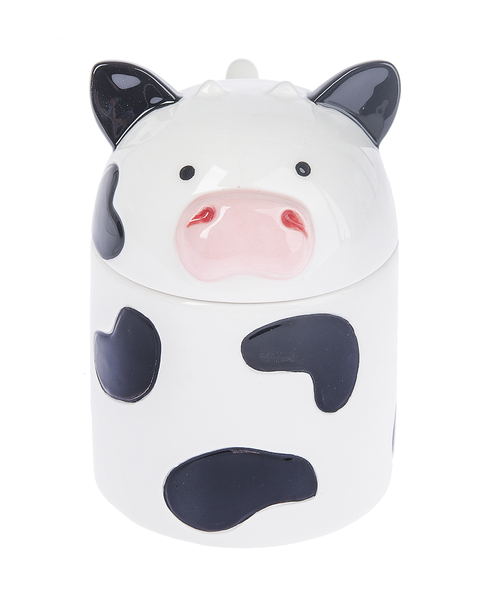 Jar with Spoon - Cow