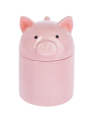 Jar with Spoon - Pig