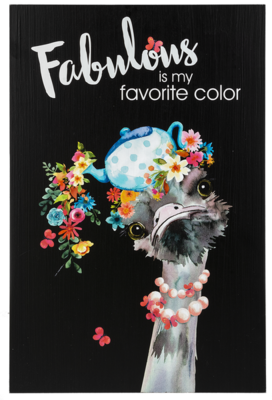 Wall Plaque - Fabulous is my Favorite Color