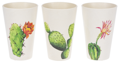 Bamboo Cup - Succulent