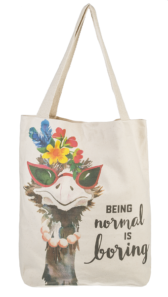 Being Normal is Boring Tote