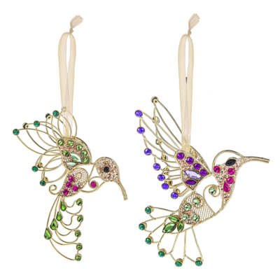 Hanging Hummingbird Ornament