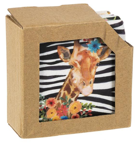 Coaster Set - Safari Animals