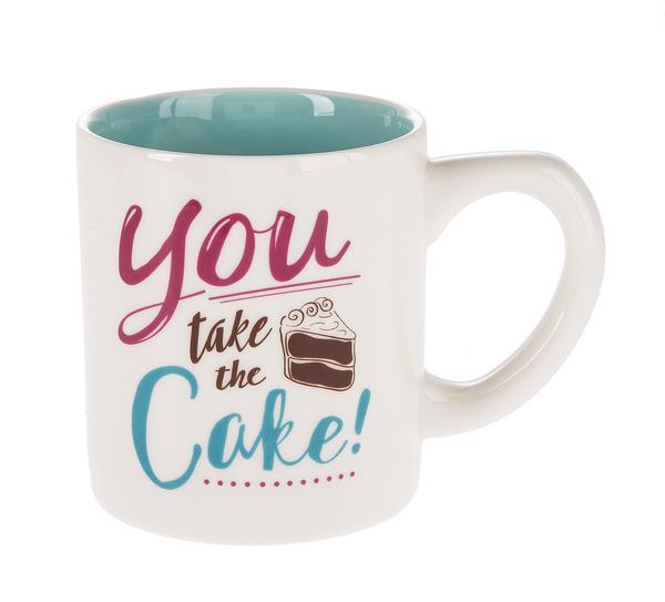 GANZ Cake Mug - You Take The Cake