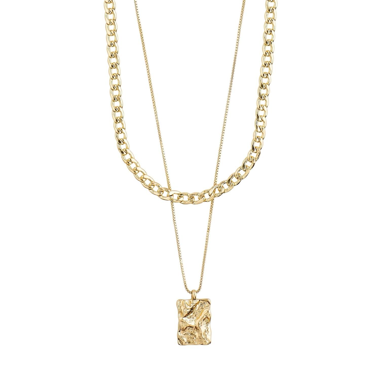 Pilgrim Gold Bathilda 2-in-1 Necklace