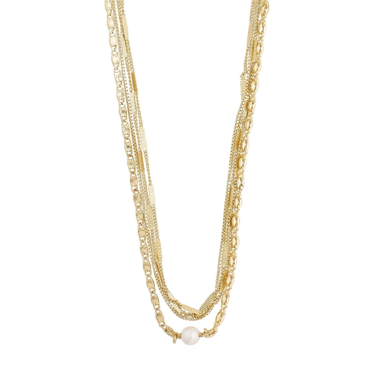 Pilgrim Gold Katherine Layered Necklace