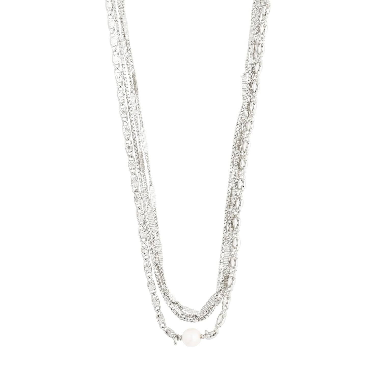 Pilgrim Silver Katherine Layered Necklace