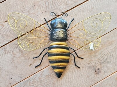 Metal Bumblebee Wall/Garden Art